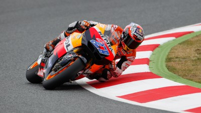 Stoner and Dovizioso end day one at the front