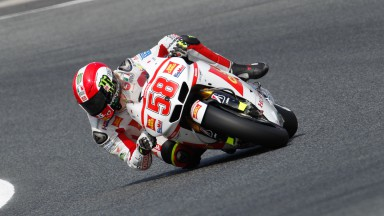Simoncelli delighted with first MotoGP pole