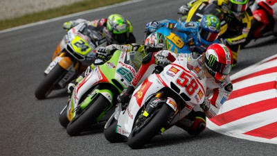 Positive weekend for Simoncelli at Barcelona