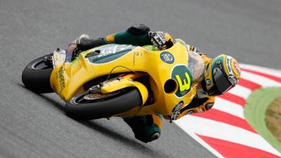 Simone Corsi secondo nella classifica mondiale Moto2