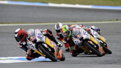 Silverstone circuit new for Red Bull Rookies