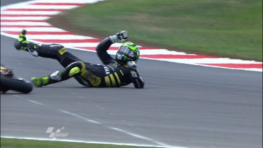 Crutchlow to miss home race after QP crash