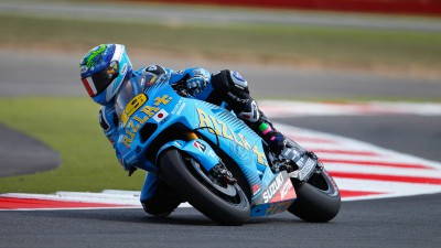 Third row for Bautista at Silverstone