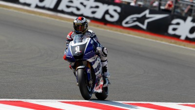 Successful qualifying for Lorenzo and Spies