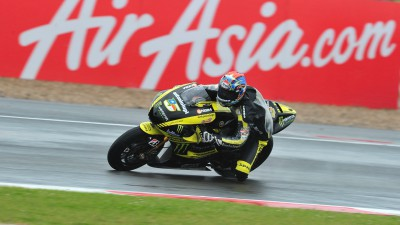 Heroic Edwards claims podium in Silverstone monsoon