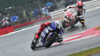 Lorenzo and Spies crash out of Silverstone