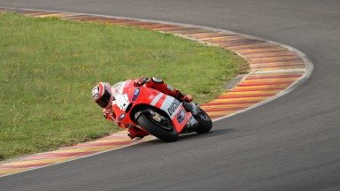 Hayden resumes GP12 development at Mugello