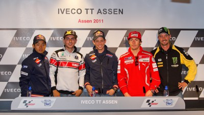 La conferenza stampa apre il weekend di Assen