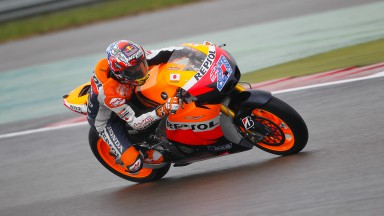 Repsol Honda Team encounter strange conditions at Assen
