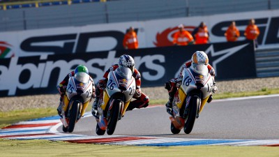 Flitcroft claims first Red Bull MotoGP Rookies Cup pole