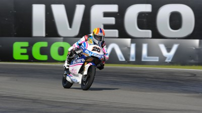 Viñales takes 125 win in red flagged race
