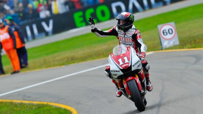 Spies lands first MotoGP victory