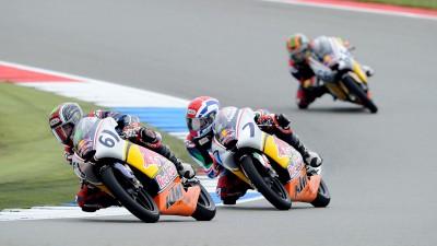 Red Bull MotoGP Rookies Cup Race 2: Sissis strikes back