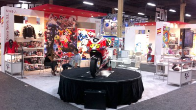 MotoGP stands out at Las Vegas Licensing Expo
