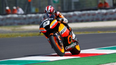 Márquez confirme lors de la seconde séance d'essais Moto2 au Mugello