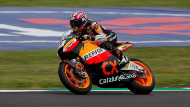 Márquez toppt nasse Moto2-Qualifikation
