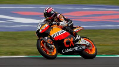 Márquez décroche sa seconde pole Moto2 sous la pluie au Mugello