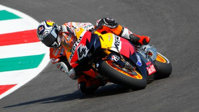 Double podium for Stoner and Dovizioso, positive return for Pedrosa