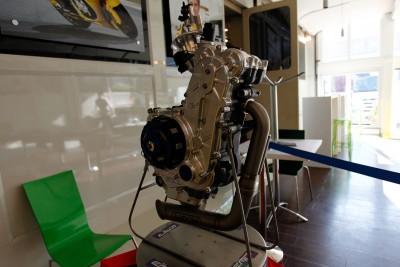 Sacchi dévoile un nouveau moteur Moto3