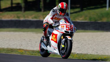 Simoncelli second fastest at MotoGP test