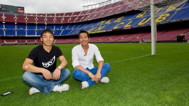 Aoyama y Yamamoto: Dos amigos muy rápidos