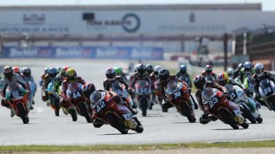 スペイン選手権の4戦目がアルバセテで開催
