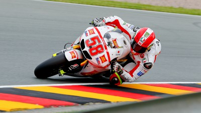 Simoncelli on second row for Sachsenring