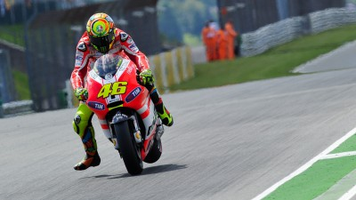 Hayden and Rossi eighth and ninth in Germany