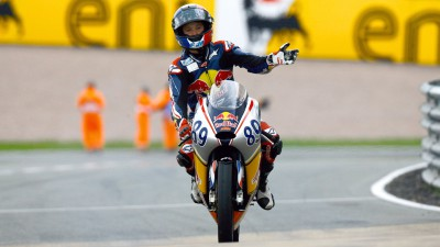 Oettl and Techer take Sachsenring Red Bull Rookies wins