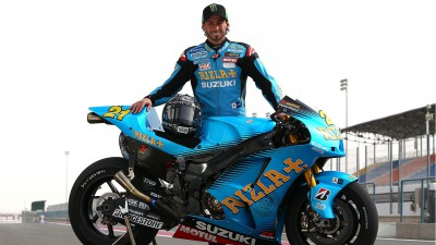 Hopkins and Rizla Suzuki re-unite for Brno round