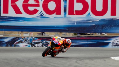 Stoner and Pedrosa start from front row, Dovizioso on second row at Laguna Seca