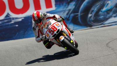 Simoncelli sfortunato in California