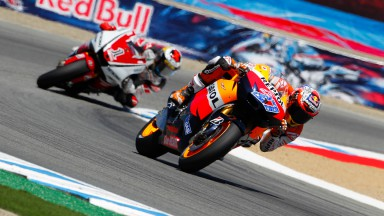 Fantastic victory for Stoner at Laguna Seca