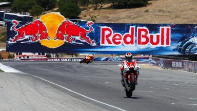 Lorenzo lands second at Laguna