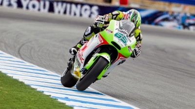 Determined Capirossi finishes Laguna Seca race