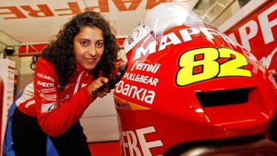 Elena Rosell correrà il Gran Premio di Aragón Moto2