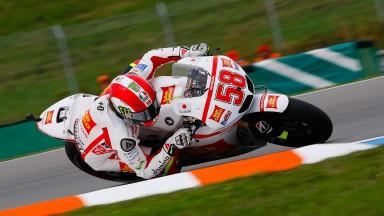 Simoncelli en confiance et satisfait de sa première journée à Brno
