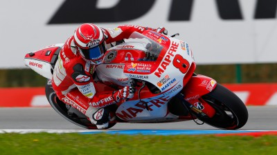 Héctor Barberá makes progress day one of Czech GP