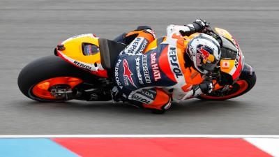 Le team Repsol Honda déjà aux deux premières places à Brno