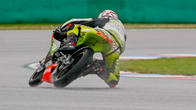 Terol returns to top in rainy FP3