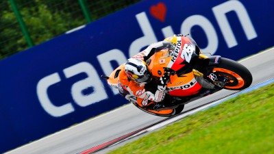 First pole of the season for Pedrosa
