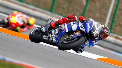 Lorenzo delivers front row at Brno