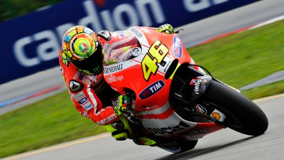 Rossi encouraged by steps forward as Hayden finds late surge
