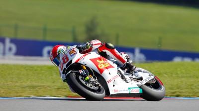 Simoncelli alcanza finalmente su primer podio en MotoGP