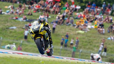Edwards eighth in Brno, Crutchlow crashes out