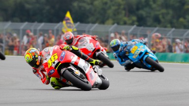 Positive weekend for Rossi and Hayden at Czech GP