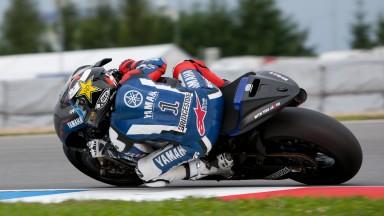 El Yamaha Factory Team concluye un positivo Test en Brno