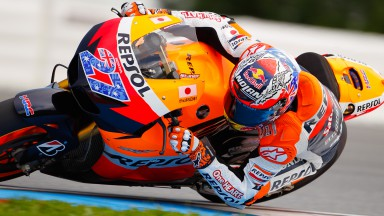 Casey Stoner and Dani Pedrosa test 2012 RC213V prototype