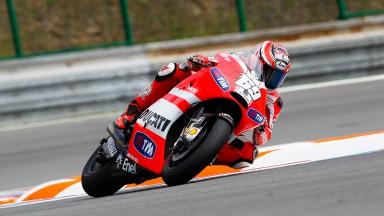 Rossi tourné vers l'avenir au Test de Brno