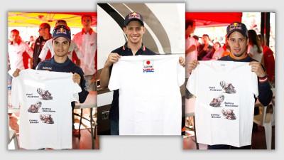 HRC、チャリティーTシャツの収益金を赤十字に寄付